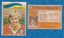 Manchester United Brian Greenhoff England 395